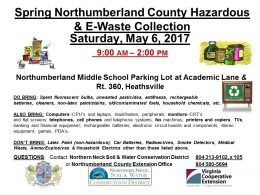Northumberland County Household Hazardous Waste and E Waste Collection