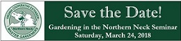 Save The Date – 2018 Gardening in the Northern Neck Seminar