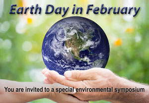 Earth Day in February (February 10)
