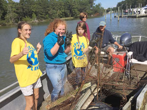 NAPS Awarded Grant from Keep Virginia Beautiful for Creek Cleanup