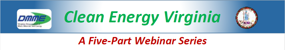 Clean Energy Virginia Five-Part Webinar Series